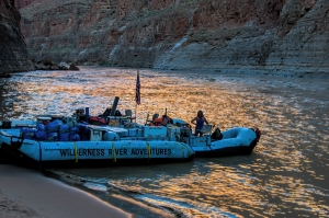 two types of rafting trips - motorized and Dory - Adventure Grand Canyon