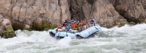 Rafting tour in the grand canyon