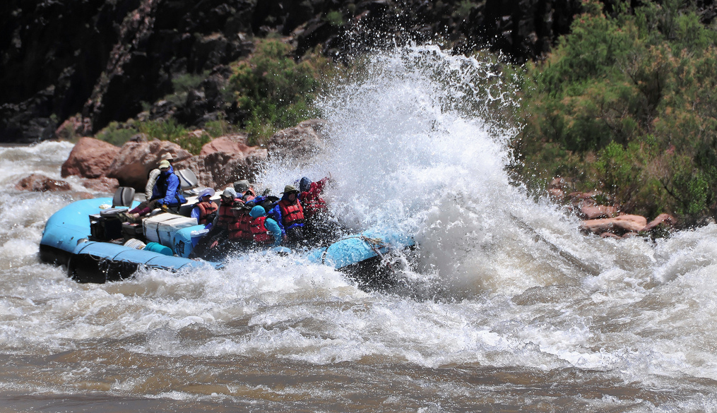 motorized rafting trips