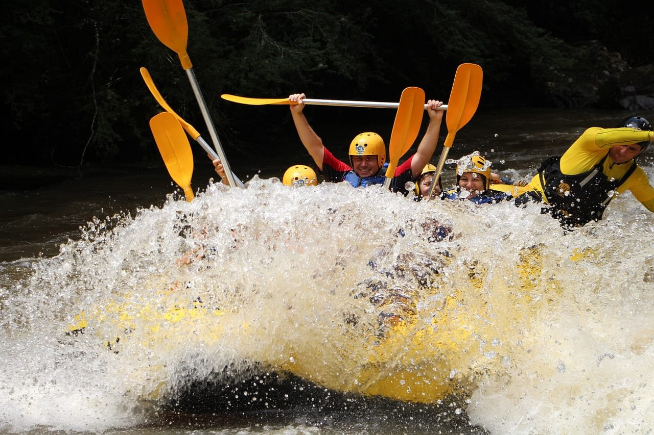 rafting tours west