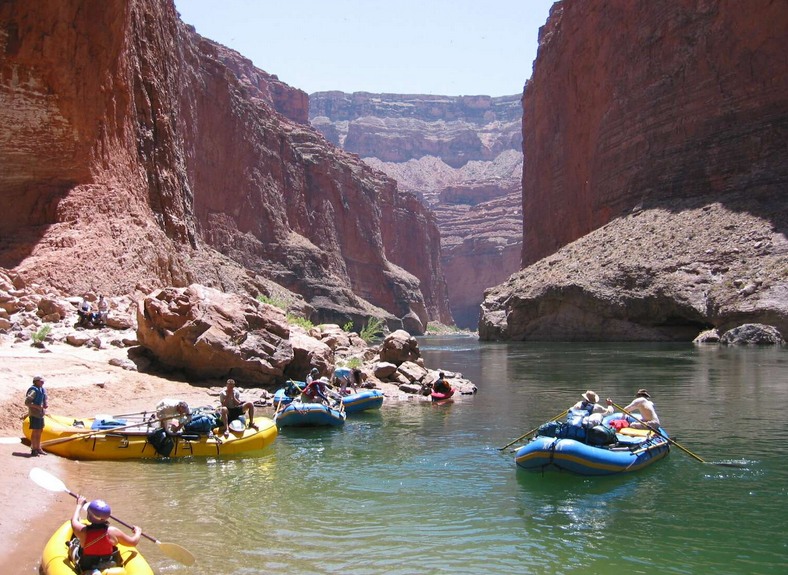 Grand Canyon rafting books