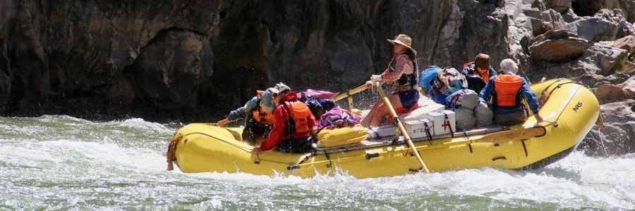 Grand Canyon Oar Raft 900x300
