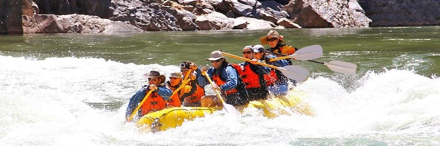 Grand Canyon Paddle Raft 900x300
