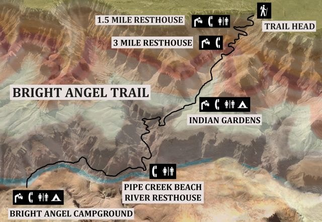 Bright Angel Trail Hike